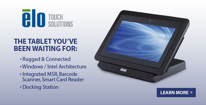 elo Touch solutions- The tablet you've been waiting for.
